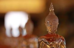 Crystal Buddha in Bangkok Stockbilder