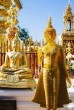 Crystal buddha. Royalty Free Stock Photos