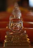 Crystal Buddha, Wat Saket, buddhistischer Tempel in Bangkok, Thailand Lizenzfreies Stockfoto