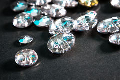 Crystal buttons Stock Photography