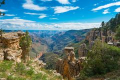 Crystal Canyon, Grand Canyon National Park, AZ. View of Crystal Canyon in The Grand Canyon National Park, AZ stock image