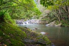 Crystal Cascades Landscape Images libres de droits