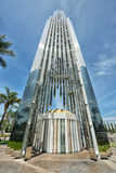 Crystal Cathedral è una costruzione di chiesa Fotografia Stock
