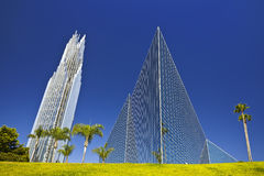 Crystal cathedral Royalty Free Stock Photography