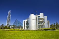 Crystal cathedral Stock Image
