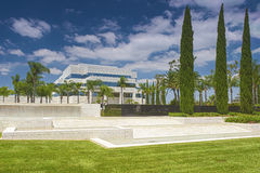 The Crystal Cathedral Church as a Place of Praise and Worship God Stock Photo
