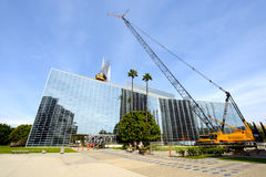 The Crystal Cathedral is a church building Royalty Free Stock Photos