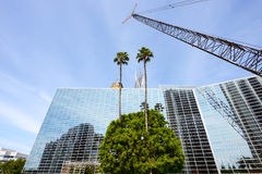 The Crystal Cathedral is a church building Royalty Free Stock Image