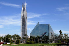 Free Crystal Cathedral In California Stock Photography - 4789082