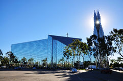 The Crystal Cathedral Stock Images