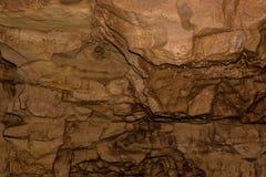 Crystal Cave é ficado situado perto da beira de Wisconsin/Minnesota em S imagens de stock royalty free