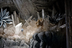 Crystal Cave Stock Images