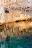 Crystal Cave Bermuda Lizenzfreies Stockbild