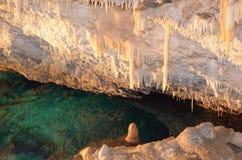 Crystal Cave Bermuda Lizenzfreie Stockfotos