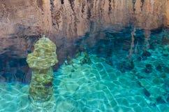 Crystal Cave Bermuda Stockbilder