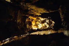 Crystal Cave horizontal Photo stock