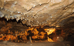 Crystal Cave horizontal Photographie stock libre de droits