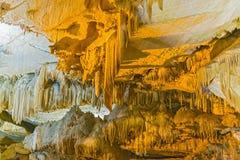 Crystal Cave nel parco nazionale della sequoia, California, U.S.A. Fotografia Stock