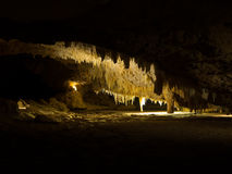 Crystal Cave Stalactites, parc national de Yanchep, Australie occidentale Image stock