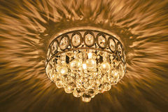 Crystal Chandelier Royalty Free Stock Photos