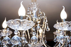 Crystal Chandelier Stockbilder