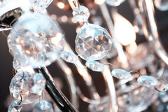 Crystal Chandelier Stockfotos