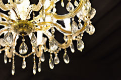 Crystal Chandelier Immagine Stock