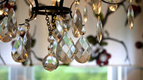 Crystal Chandelier Images libres de droits