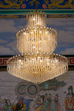 Crystal Chandelier Royaltyfria Foton