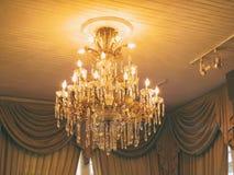 Crystal Chandelier Imagens de Stock Royalty Free