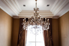 Crystal Chandelier Image stock