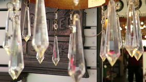 Crystal Chandelier stock footage