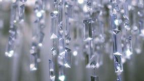 Crystal Chandelier Ciérrese para arriba de los cristales metrajes