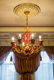 Crystal chandelier Royalty Free Stock Images