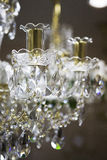 Crystal chandelier Stock Photos