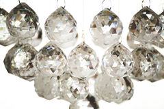Crystal chandelier details Stock Image