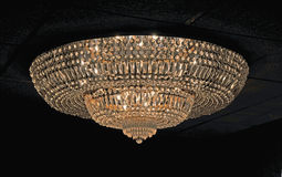 Crystal chandelier. Image of a crystal chandelier Royalty Free Stock Image