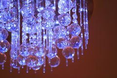 Crystal chandelier lamp Royalty Free Stock Photos