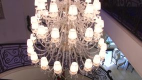 Crystal Chandelier stock video