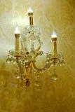 Crystal Chandelier luxuoso imagem de stock