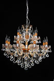 Crystal chandelier for Commercial building Romantic Home Furnishing decoration,Holiday gift Royalty Free Stock Photography