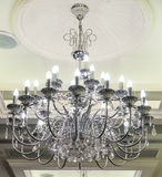 Crystal Chandelier. Royalty Free Stock Photos