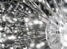 Crystal Chandelier moderno luxuoso fotografia de stock royalty free