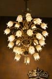Crystal Chandeliers Imagem de Stock