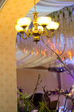 Crystal chandeliers, Royalty Free Stock Photography