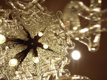 Crystal chandlier Stock Image