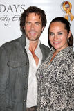 Crystal Chappell, Shawn Christian Stock Images