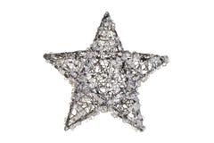 Crystal christmas star Royalty Free Stock Photos