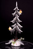 Crystal Christmas Tree Royalty Free Stock Photography
