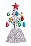 Crystal Christmas tree toy Royalty Free Stock Photos